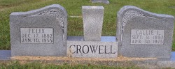 Callie <i>Leatherwood</i> Crowell