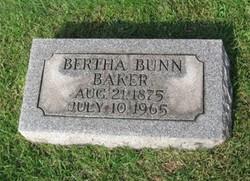 Bertha <i>Bunn</i> Baker