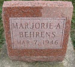 Marjorie A Behrens
