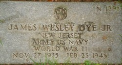 SMN James Wesley Dye, Jr