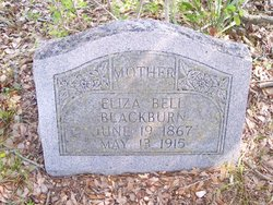 Eliza Bell <i>Williams</i> Blackburn