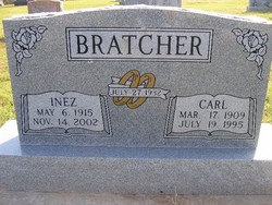 Clara Inez <i>Taylor</i> Bratcher