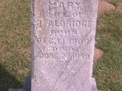 Mary Aldridge