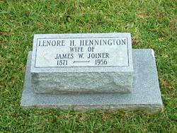 Lenoir Hyland Lenore <i>Henington</i> Joiner