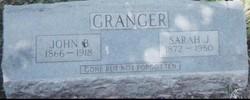 Sarah Jane <i>Winfree</i> Granger