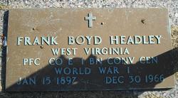 Frank Boyd Headley