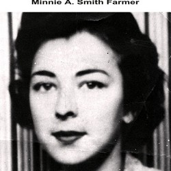 Minnie Agnes <i>Smith</i> Farmer