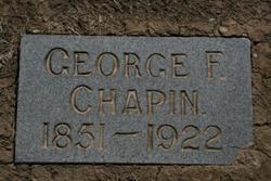 George Flavel Chapin