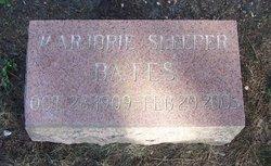 Marjorie <i>Sleeper</i> Bates