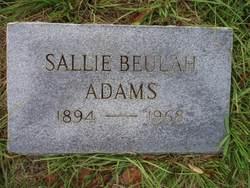 Sallie Beulah Adams