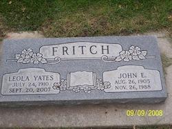 Leola <i>Yates</i> Fritch