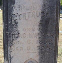 Gertrude Wright Walker