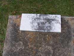 Clara <i>Ethridge</i> Arnold