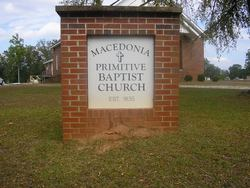 Macedonia Primitive Baptist Church Cemetery