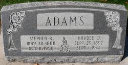 Haydee Mallissa <i>Walker</i> Adams