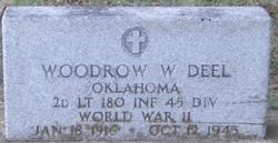 Lieut Woodrow W. Deel