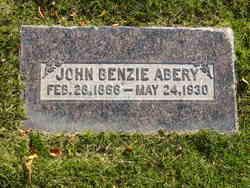 John Benzie Abery
