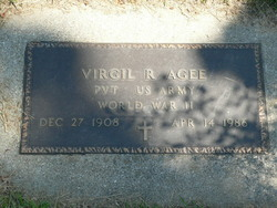 Virgil E Agee
