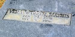 Vera <i>Warren</i> Mathis