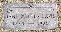 Jane <i>Walker</i> Davis