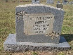 Maudie <i>Lones</i> Parker