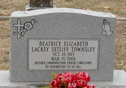 Beatrice Elizabeth <i>Lackey</i> Townsley
