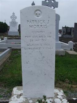 Pvt Patrick J Morris