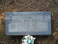 Edna Mae <i>Wolfe</i> Galiga