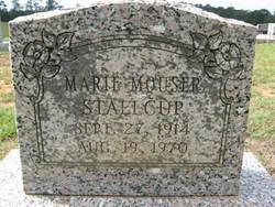Marie <i>Mouser</i> Stallcup