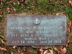 Mahlon P. Albertson