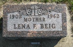 Lena Francis <i>Petersen</i> Beig