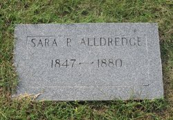 Sara P. <i>Estes</i> Alldredge