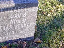 Elizabeth E <i>Davis</i> Bennett