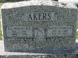Carl Clinton Akers
