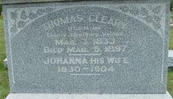 Johanna <i>Green</i> Cleary
