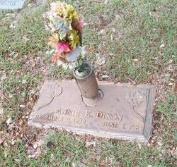 Annie Evelyn <i>Crawford</i> Dixon