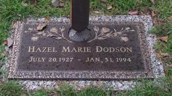 Hazel Marie <i>Nix</i> Dodson