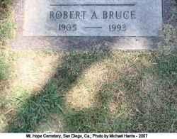 Robert A Bruce