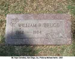 William R Bruce