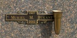 Muriel M. Bukant