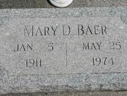 Mary Delilah <i>Still</i> Baer