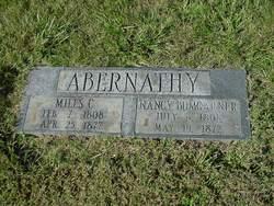 Nancy <i>Bumgarner</i> Abernathy
