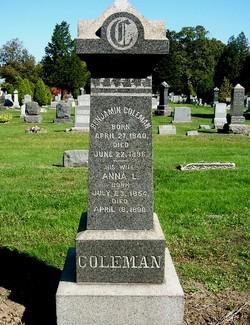 Anna Lanning <i>Blackwell</i> Coleman