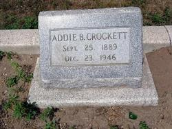 Addie B. Crockett