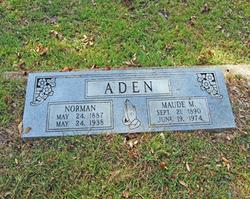 Maude M. <i>McPike</i> Aden