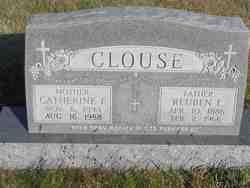 Catherine Ellen <i>Neville</i> Clouse