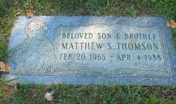 Matthew S Thomson