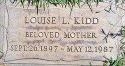 Louise L Kidd