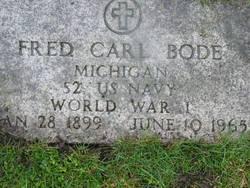 Fred Carl Bode
