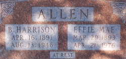 Benjamin Harrison Allen, Sr